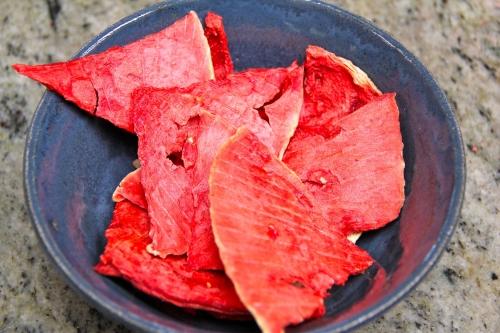 Watermelon chips