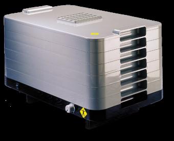 L'Equip 306200 500-Watt 6-Tray Food Dehydrator, Gray
