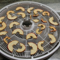 Step 5 - Remove from dehydrator trays