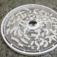 Step 7 - Remove from dehydrator trays