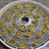 Step 4 - Remove kiwi from dehydrator trays