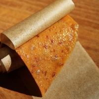 Step 6 - Roll up in parchment paper