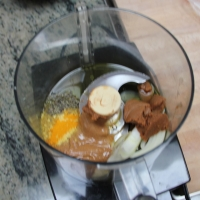 Step 2 - Add Ingredients to food processor and blend until smooth