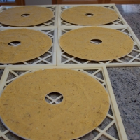 Step 7 - Dehydrate at 135° 4-6 hours